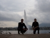 Micha & Kai at the Lake in Geneve