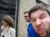 Porto: Maggie, Micha and the Wurzelhörnchen